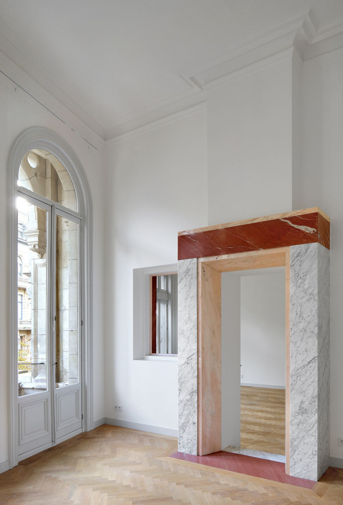 Bovenbouw Architectuur . Refurbishment of 3 historical buildings . Antwerp (15)