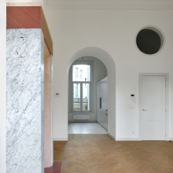 Bovenbouw Architectuur . Refurbishment of 3 historical buildings . Antwerp (16)