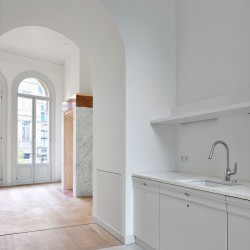Bovenbouw Architectuur . Refurbishment of 3 historical buildings . Antwerp (17)
