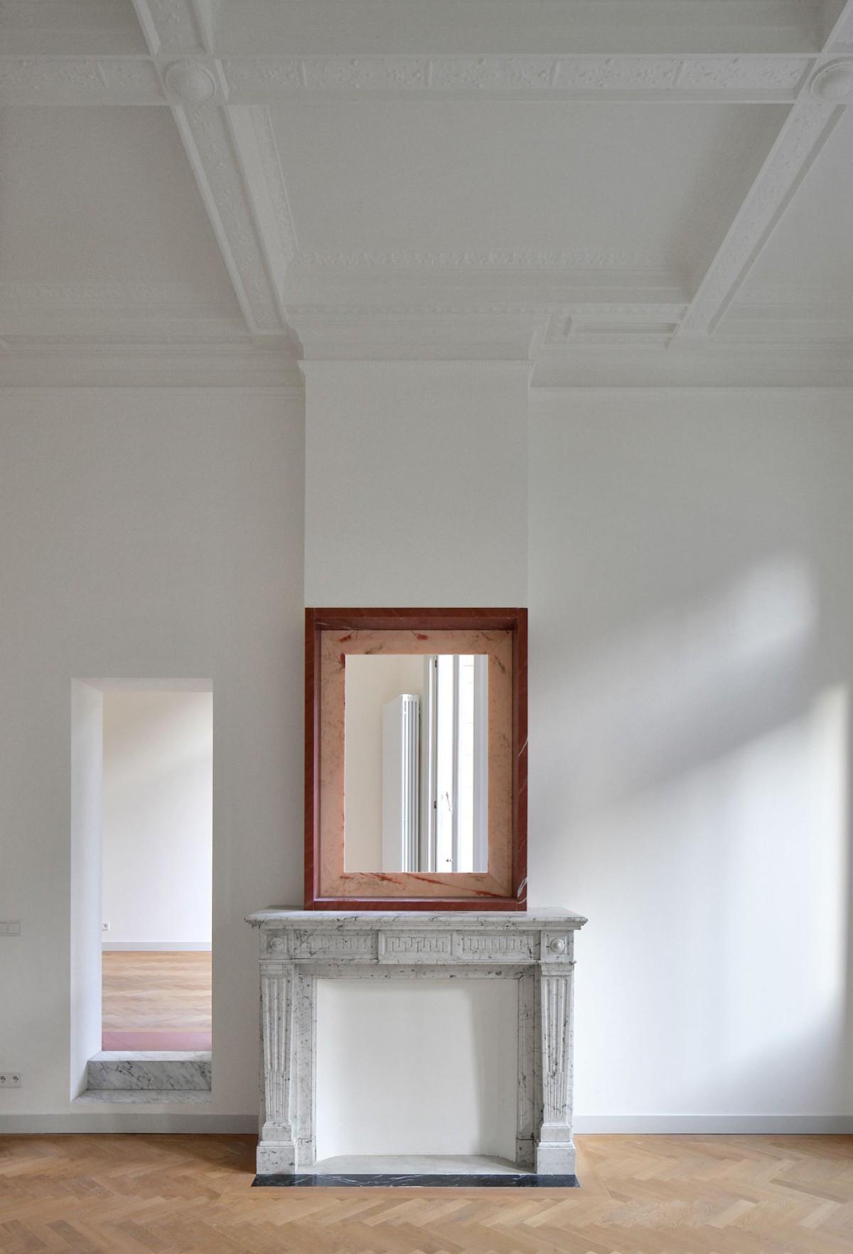 Bovenbouw Architectuur . Refurbishment of 3 historical buildings . Antwerp (18)