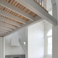 Bovenbouw Architectuur . Refurbishment of 3 historical buildings . Antwerp (22)