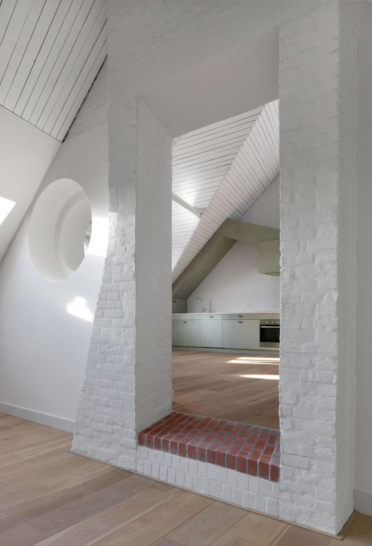 Bovenbouw Architectuur . Refurbishment of 3 historical buildings . Antwerp (27)