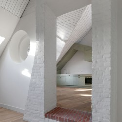 Bovenbouw Architectuur . Refurbishment of 3 historical buildings . Antwerp (27)