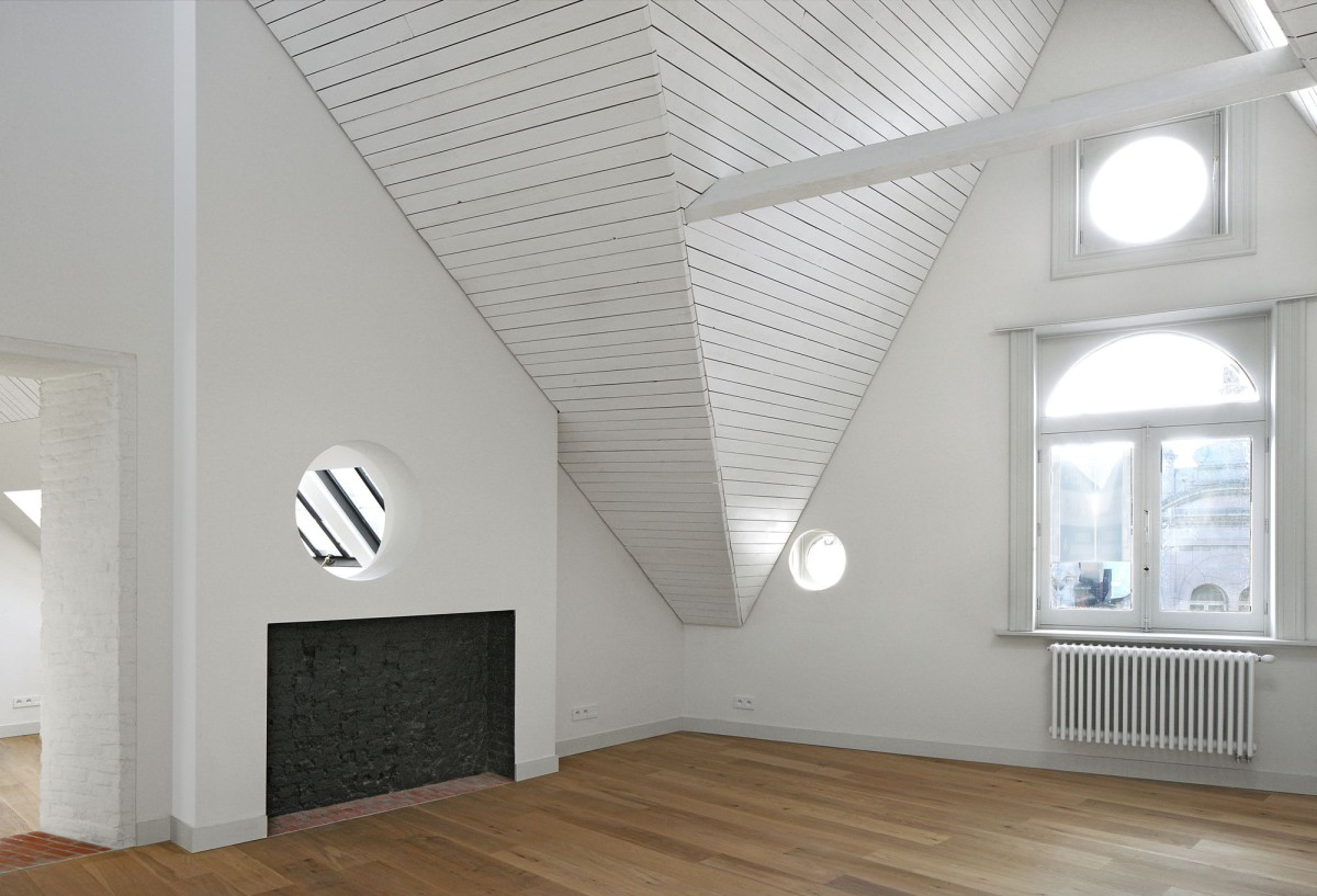 Bovenbouw Architectuur . Refurbishment of 3 historical buildings . Antwerp (28)