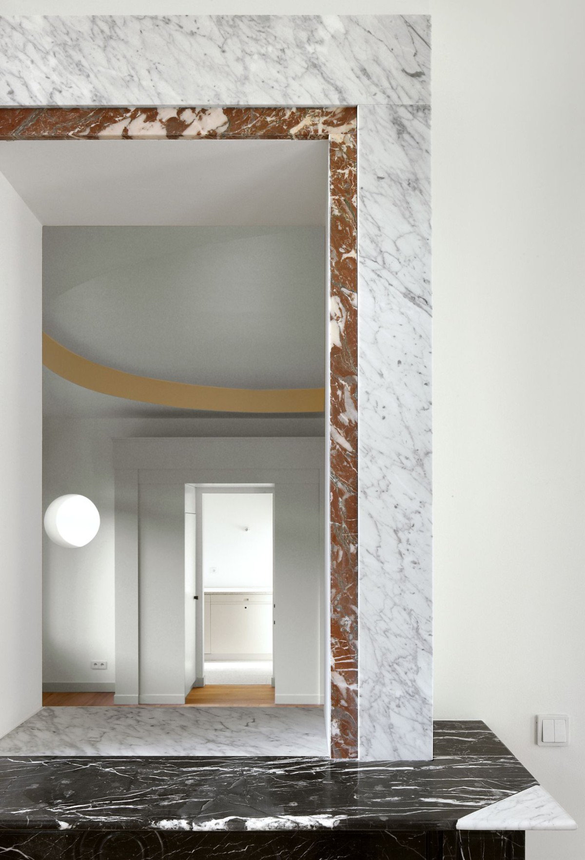 Bovenbouw Architectuur . Refurbishment of 3 historical buildings . Antwerp (7)