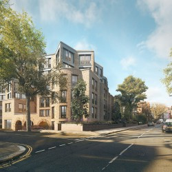 Sergison Bates . Hampstead Housing for older residents . London (10)