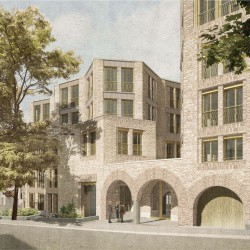 Sergison Bates . Hampstead Housing for older residents . London (2)