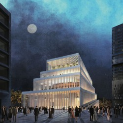 David Chipperfield . new Concert Hall . Munich (1)
