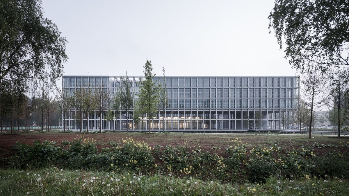 ENSAE Paristech Campus University Saclay Paris - CAB Architectes