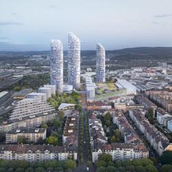 Herzog & de Meuron . Nordspitze new master plan . Basel (2)