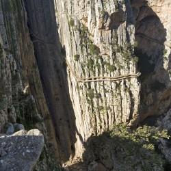 Luis Machuca . Details  Caminito del Rey . Gaitanes Gorge (17)