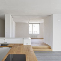 sabarchitekten . Renovation and extension of a townhouse . Basel  (16)