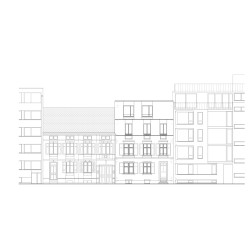 sabarchitekten . Renovation and extension of a townhouse . Basel  (19)