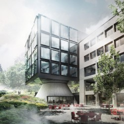 Herzog & de Meuron . West Wing Extension of Helvetia Head Office . St. Gallen (15 (1)