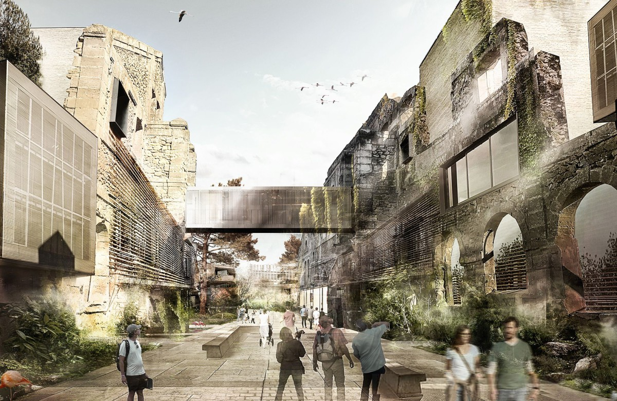 Jean Nouvel . eco-neighborhood .  Istres (1)