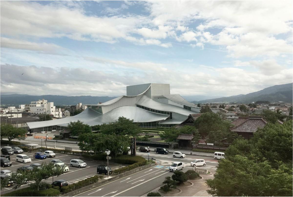SANAA .  Tsuruoka Cultural Hall . Giappone (1)