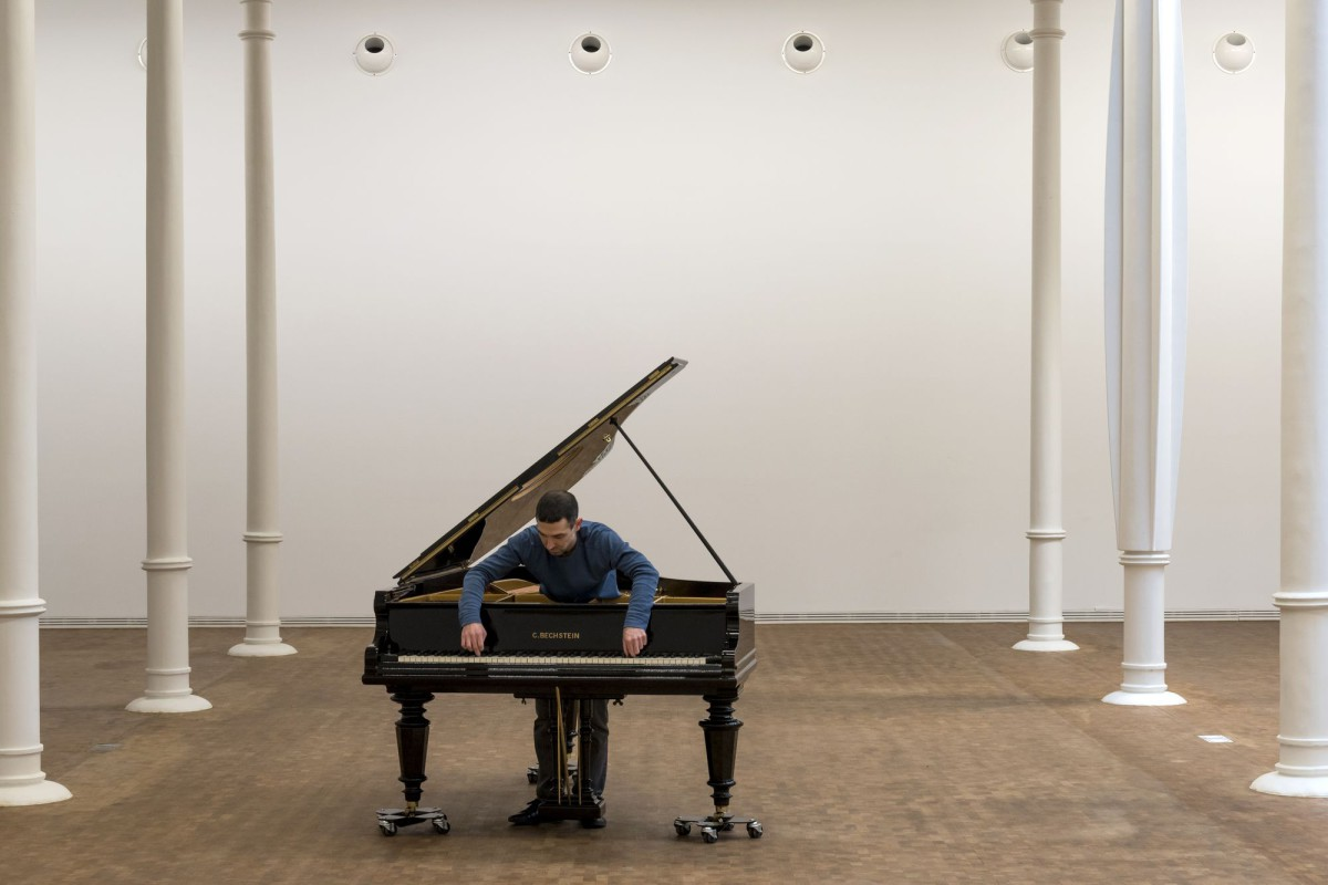 "Allora & Calzadilla . Stop, Repair, Prepare Variations on ""Ode To Joy"" for a Prepared Piano . 2008 (1)"