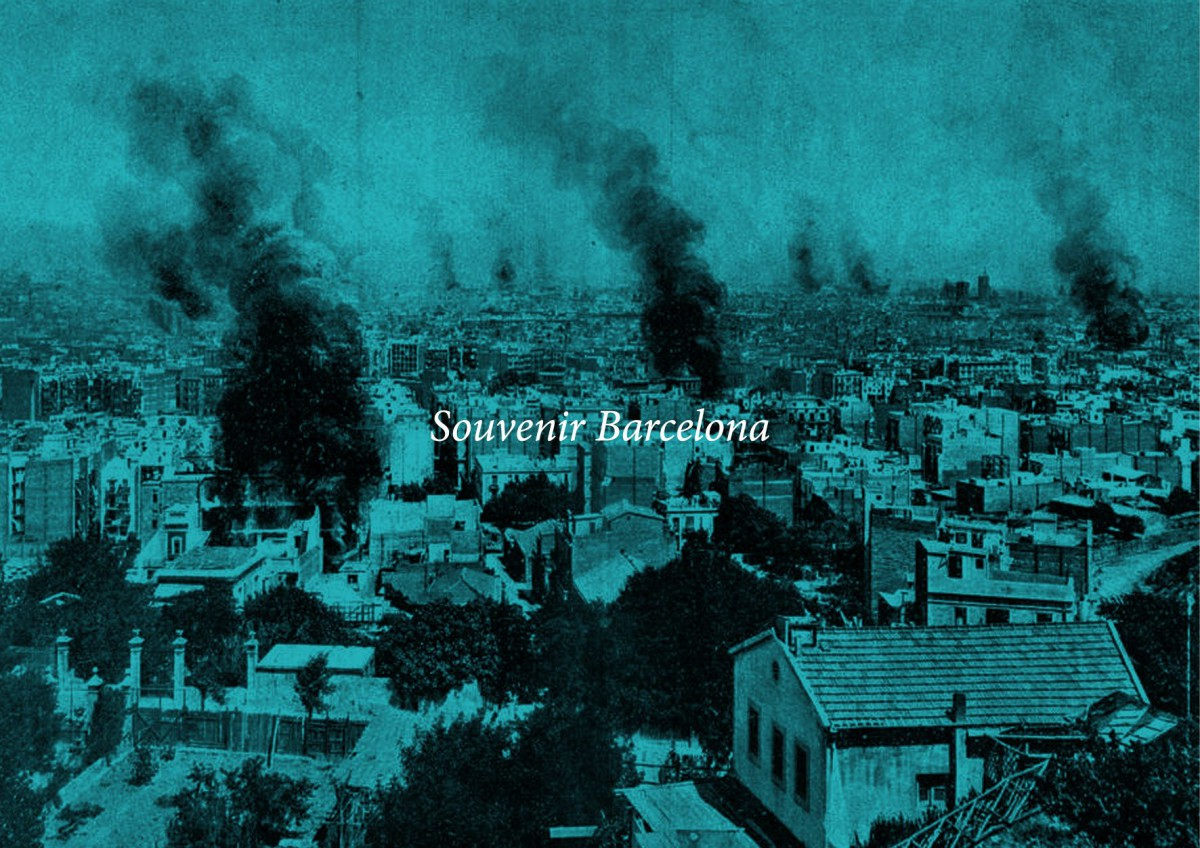 Domènec. Souvenir Barcelona . 2017 (1)