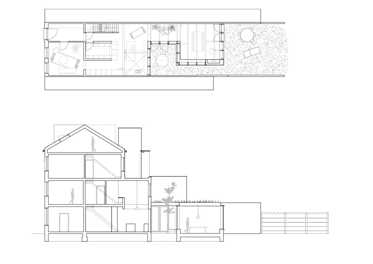 RAAMWERK . Wolterslaan Row house . GHENT (11)