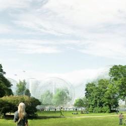 Sanaa . Nobel Center competition proposal . Stockholm  (3)
