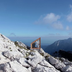 OFIS Architects . Alpine Shelter . Skuta Mountain (1)