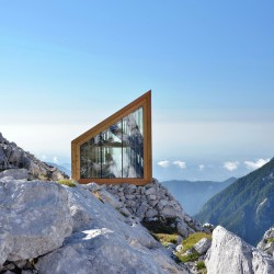 OFIS Architects . Alpine Shelter . Skuta Mountain (2)