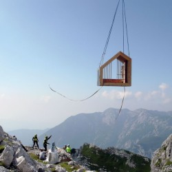 OFIS Architects . Alpine Shelter . Skuta Mountain (21)