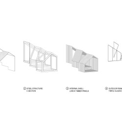 OFIS Architects . Alpine Shelter . Skuta Mountain (35)