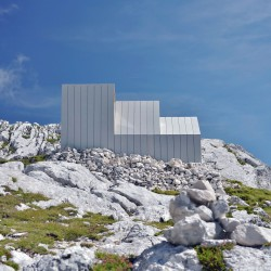 OFIS Architects . Alpine Shelter . Skuta Mountain (6)