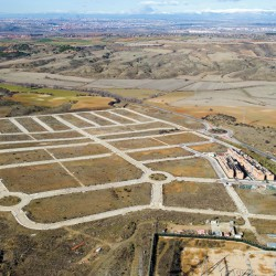The physical traces of the boom and bust are inscribed across the Iberian Meseta.  © Christopher Marcinkoski