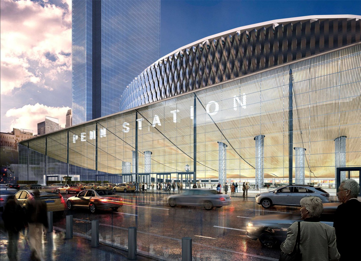 New York's Pennsylvania Station . renovation and expansion plans (1)