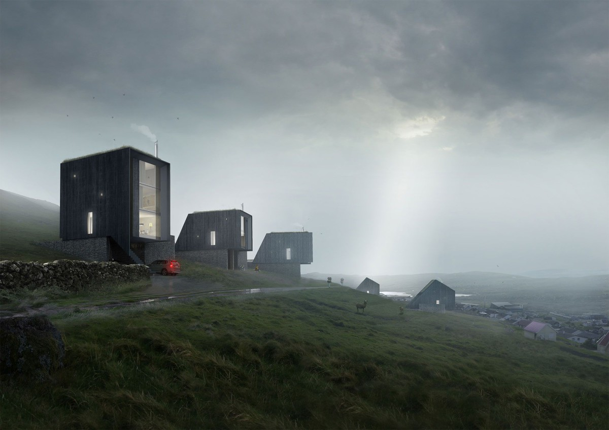 Hyde + Hyde . Faroe Islands housing competition (1)