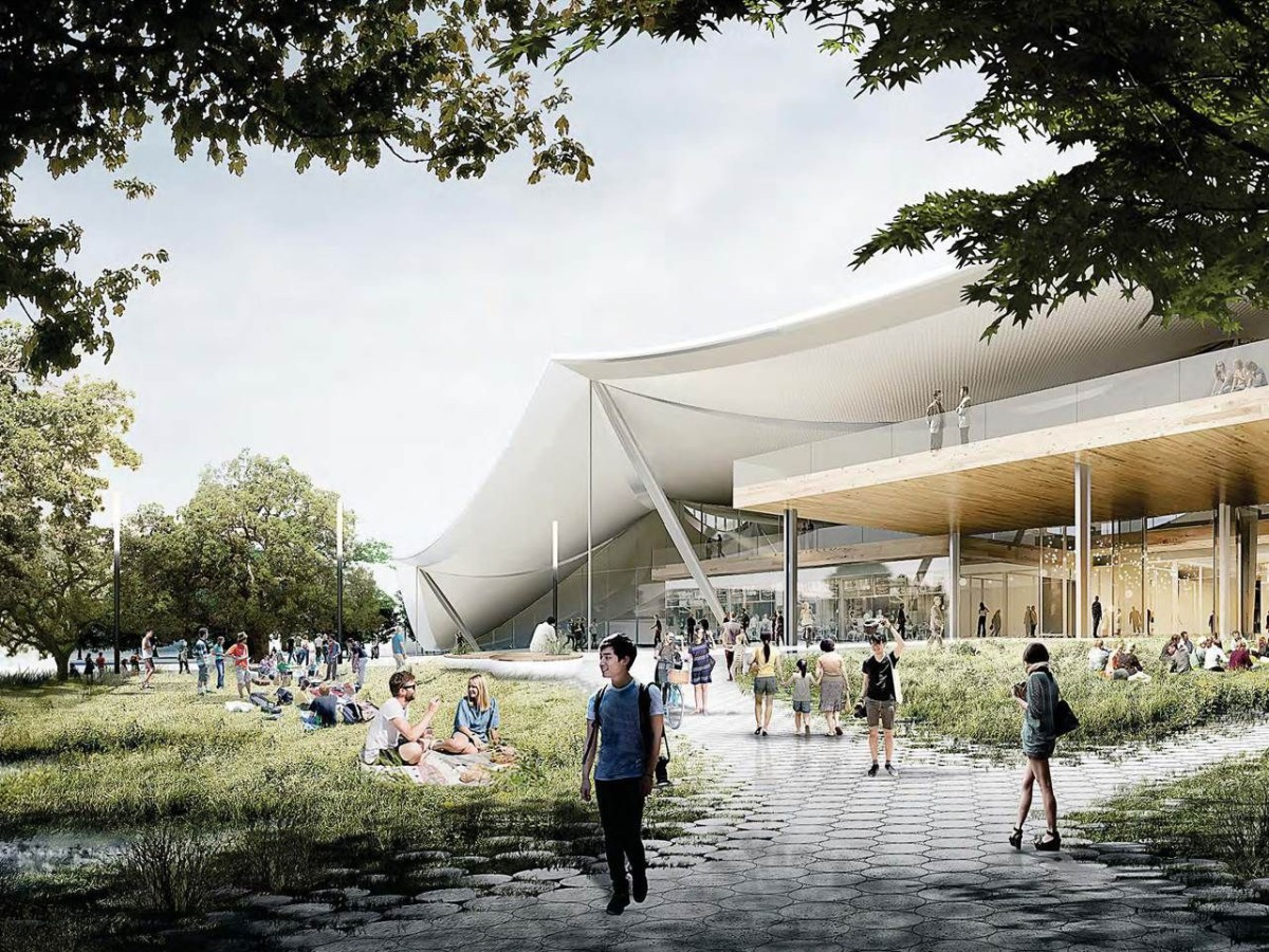 BIG . Google's New Campus . Mountain View (1)