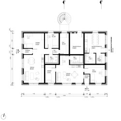 PAC . Multi-family passive house with 8 apartments . Potsdam  (12)