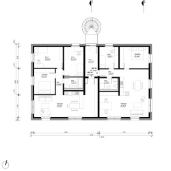 PAC . Multi-family passive house with 8 apartments . Potsdam  (13)