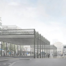 Caruso St John .  new Station Square . Lausanne (2)