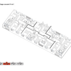 lacaton&vassal .transformation of 530 dwellings, block g, h, i . bordeaux  afasia (2)