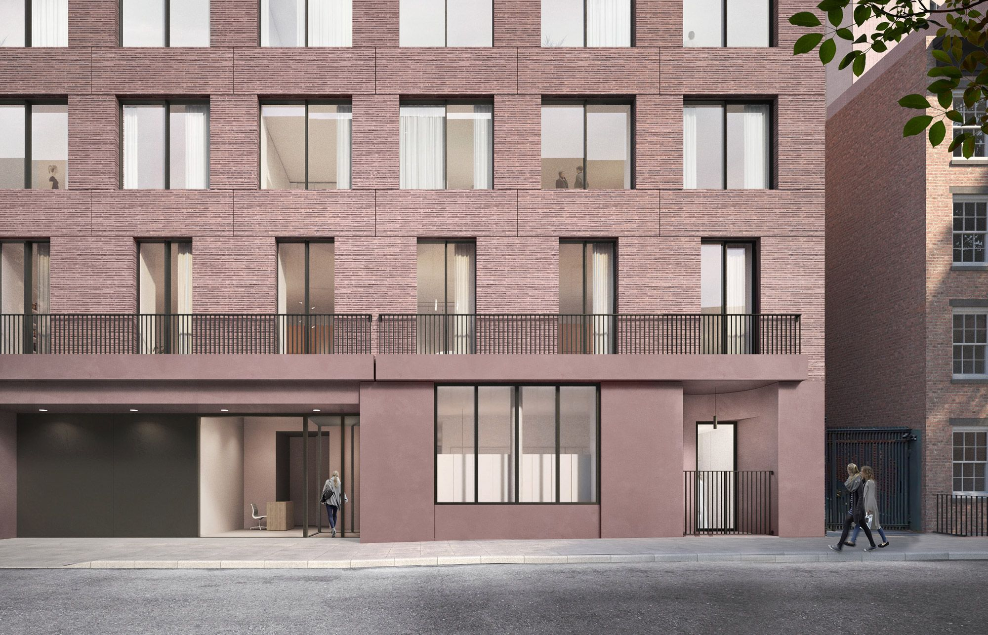 David Chipperfield   Jane Street apartment building   New York City
