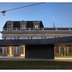 Contell-Martínez . REHABILITATION OF THE OLD RAILWAY STATION . BURGOS  (1)
