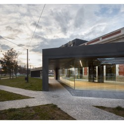 Contell-Martínez . REHABILITATION OF THE OLD RAILWAY STATION . BURGOS  (6)