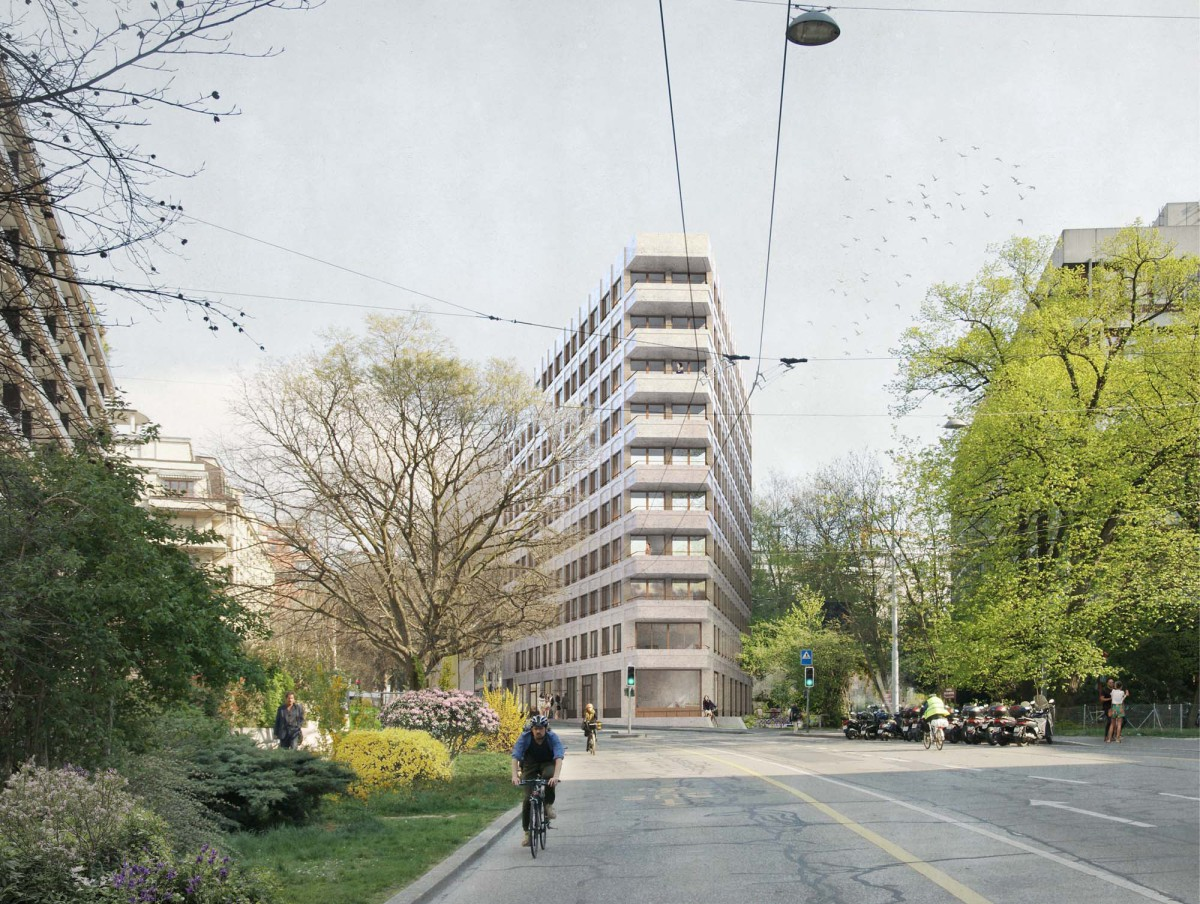Lacroix Chessex .  Student Housing in Champel . Geneve (1)