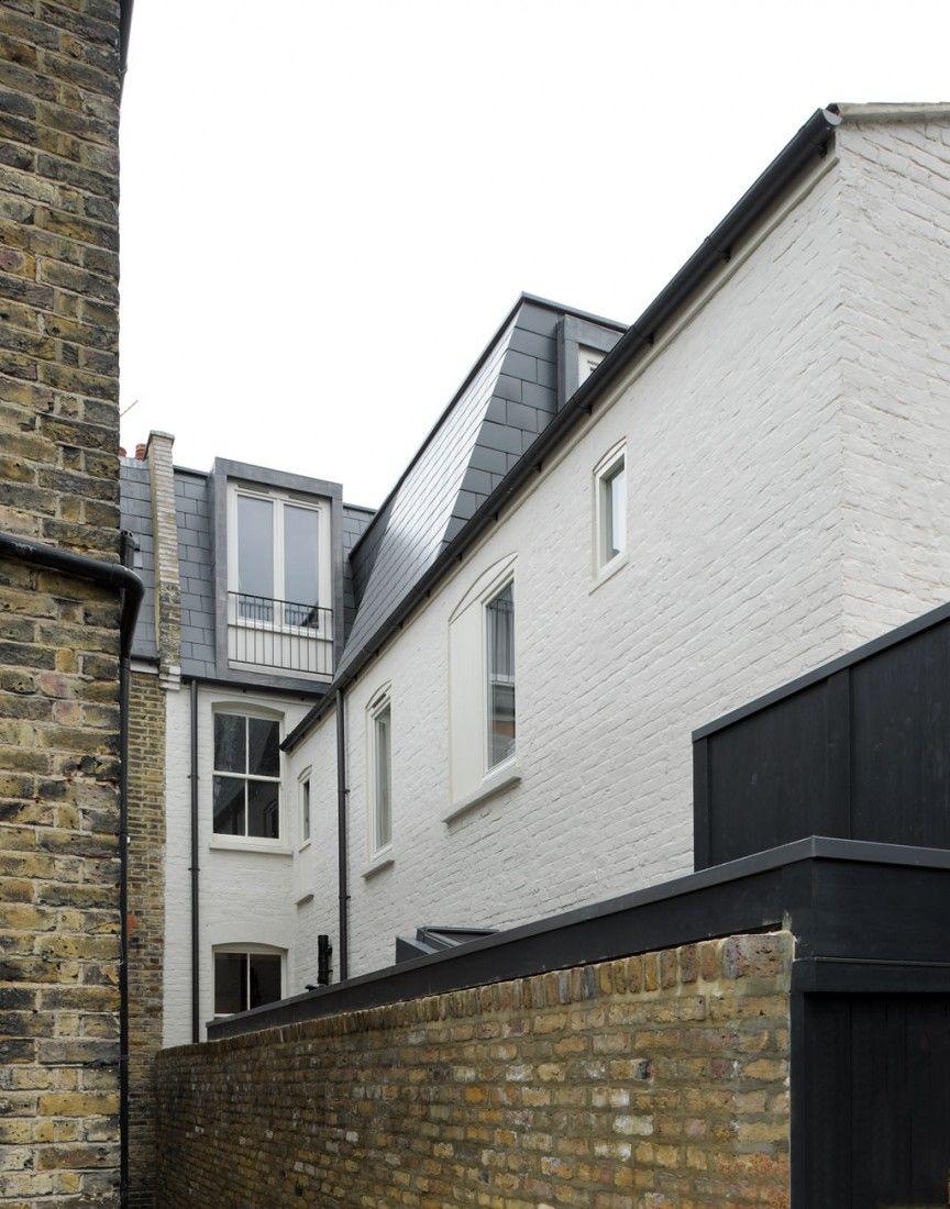 Sergison Bates . terraced House remodelling . Fulham (14)
