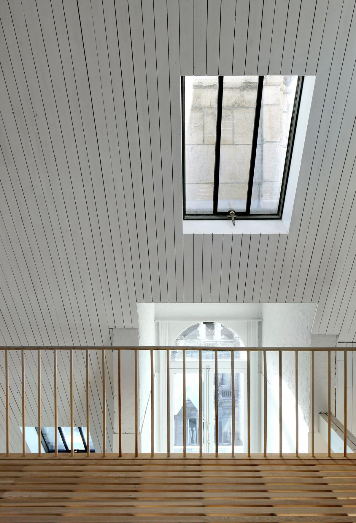 Bovenbouw Architectuur . Refurbishment of 3 historical buildings . Antwerp (24)