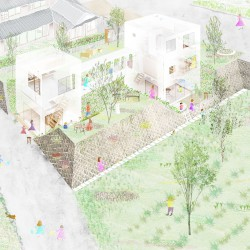 studio velocity . House with Retaining Wall of the Town . Mie (12)