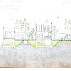 studio velocity . House with Retaining Wall of the Town . Mie (14)