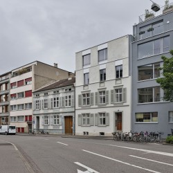 sabarchitekten . Renovation and extension of a townhouse . Basel  (2)