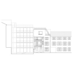 sabarchitekten . Renovation and extension of a townhouse . Basel  (20)