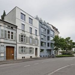 sabarchitekten . Renovation and extension of a townhouse . Basel  (3)