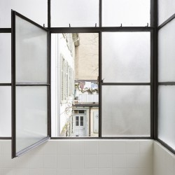 sabarchitekten . Renovation and extension of a townhouse . Basel  (7)