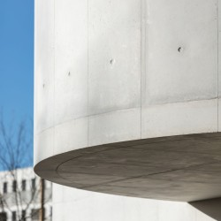 Alvaro Siza . Church of Saint-Jacques de la Lande . Rennes (33)